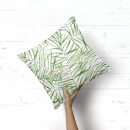 Tropical Leaves Square Cushion