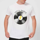 Let's Dance Men's T-Shirt - White