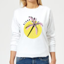 Aloha Women's Sweatshirt - White