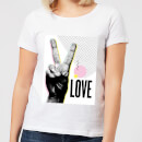 Peace Love Women's T-Shirt - White