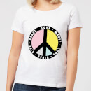 Peace Sign Women's T-Shirt - White