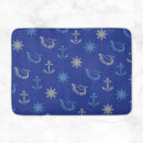Nautical Pattern Bath Mat