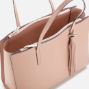 Ted Baker Women's Narissa Leather Tassel Detal Large Tote Bag - Taupe