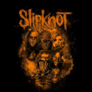 Slipknot Bold Patch T-Shirt - Black