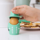 Queen Egg Cup & Cutter Set