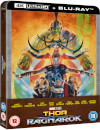 Thor Ragnarok – 4K Ultra HD (Includes 2D Blu-ray) Zavvi Exclusive Steelbook