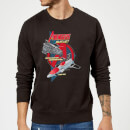 Marvel The Avengers Quinjet Sweatshirt - Black