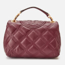 Tory Burch Women's Fleming Soft Small Convertible Shoulder Bag - Claret
