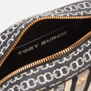 Tory Burch Women's Gemini Link Canvas Mini Bag - Black Gemini Link