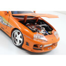 Jada Die Cast 1:24 The Fast and the Furious Brian's 1994 Toyota Supra MK IV