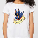 Swallow Free Spirit Women's T-Shirt - White