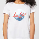 Free Spirit Tidal Wave Women's T-Shirt - White