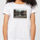 Forest Photo Scene Wonderlust Adventure Is Out There Women's T-Shirt - White