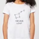 Little Dipper Constellation Never Lost Women's T-Shirt - White