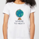 Globe Where To Next? Women's T-Shirt - White