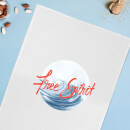Free Spirit Tidal Wave Cotton Tea Towel