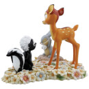 Enchanting Disney Collection - Pretty Flower (Bambi, Thumper and Flower Figurine)