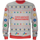 Zavvi Exclusive Nintendo SNES Christmas Knitted Jumper