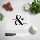 Food & Love & Done Chopping Board