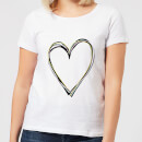 Heart Women's T-Shirt - White