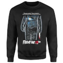 Friday the 13th Vintage Poster Sweatshirt - Black