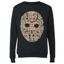 Friday the 13th Mask Women's Sweatshirt - Black