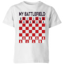My Battlefield Chess Board Red & White Kids' T-Shirt - White
