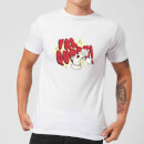 Yas Queen! Cartoon Men's T-Shirt - White
