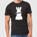 Rook Chess Piece Men's T-Shirt - Black