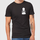 Not A Pawn In Your Game Pocket Print Men's T-Shirt - Black