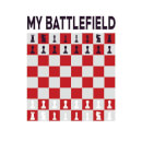 My Battlefield Chess Board Red & White Women's Sweatshirt - White