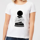 Pawn Chess Piece Women's T-Shirt - White