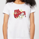 Yas Queen! Cartoon Women's T-Shirt - White