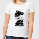 Knight Chess Piece Honour And Glory Women's T-Shirt - White