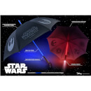 Star Wars Official Light up Lightsaber Umbrella with Torch Handle - Dark Side (Red) - Zavvi Exclusive