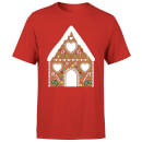 Gingerbread House Men's T-Shirt - Red