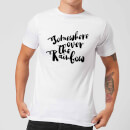 Somewhere Over The Rainbow Men's T-Shirt - White