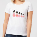 Pink Geisha Russian Doll Women's T-Shirt - White