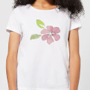 Pink Flower 2 Women's T-Shirt - White