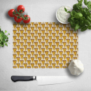 Cooking Pizza Slice Pattern Chopping Board