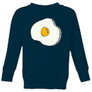Cooking Fried Egg Kids' Sweatshirt
