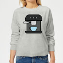 Cooking Coffee Machine Women's Sweatshirt