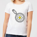 Cooking Fried Egg In A Pan Women's T-Shirt