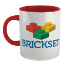Brickset Logo Mug - White/Red