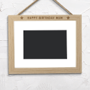 Happy Birthday Mum Landscape Frame