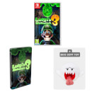 Luigi's Mansion 3 + SteelBook & Boo Soft Toy Pack