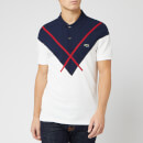 Lacoste Men's Short Sleeve Made in France Polo Shirt - Farine