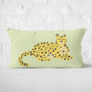 Cheetah Sitting Rectangular Cushion