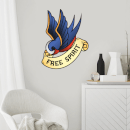 Free Spirit Wall Art Sticker