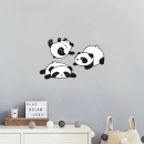Panda Wall Art Sticker